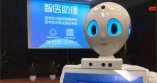 Xiaoyi robot diplômé médecine Chine