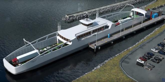 Rolls-Royce lance le premier ferry autonome