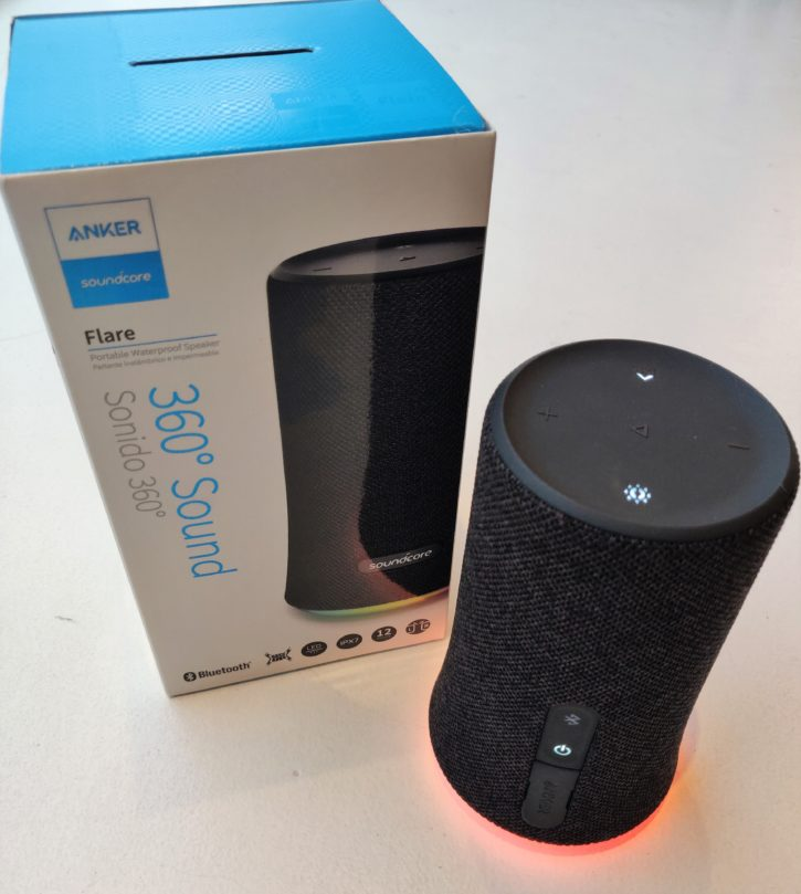 SoundCore Flare Unoboxing