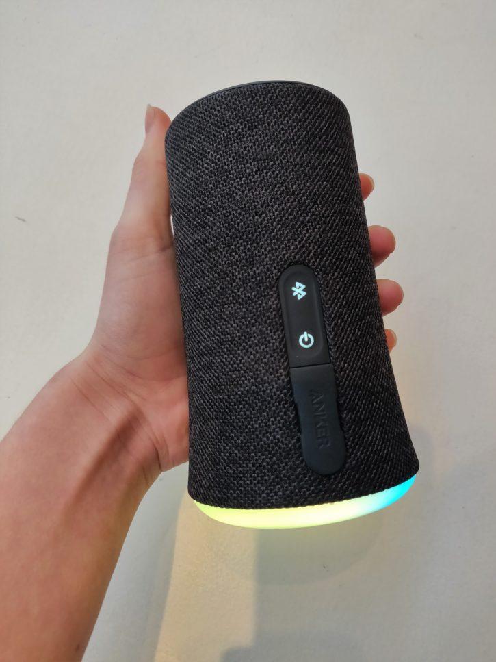 SoundCore Flare facile à prendre en main
