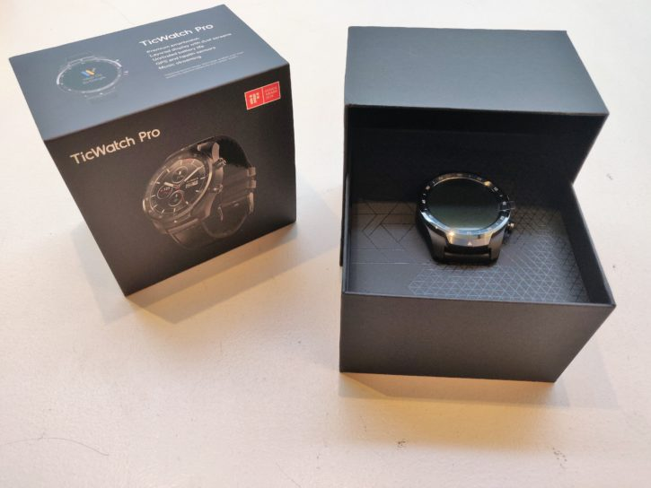 unboxing de la ticWatch