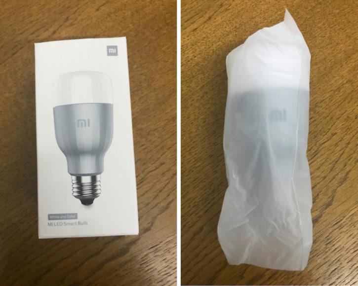 unboxing de la Xiaomi Mi Led Smart Bulb