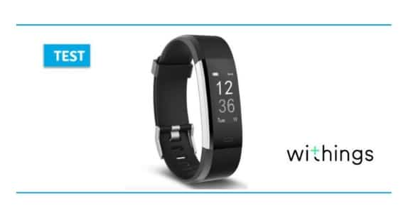 bracelet connecté pulse HR de Withings
