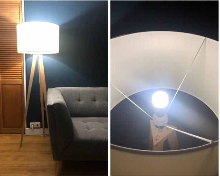 lumière blanche froide à adapter avec la Mi Home
