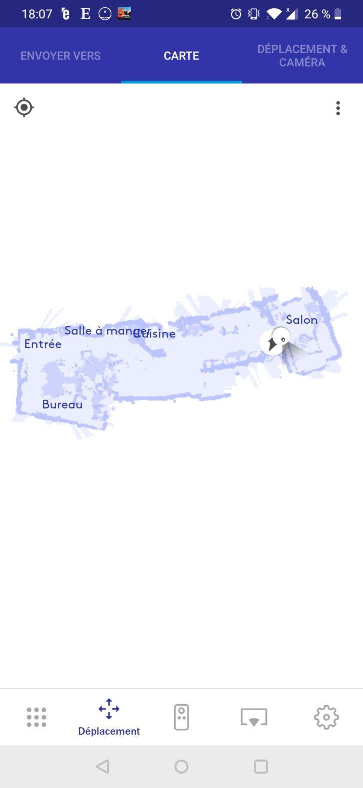 Application Keecker : créer la map