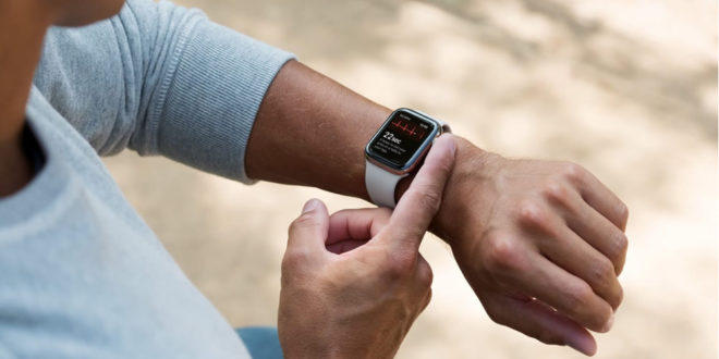 Apple Watch Series 4 meilleur wearable 2018 objet connecté