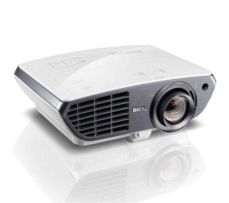 BenQ W3000 face au projecteur keecker