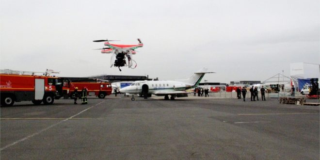 L'aéroport de Gatwick drone