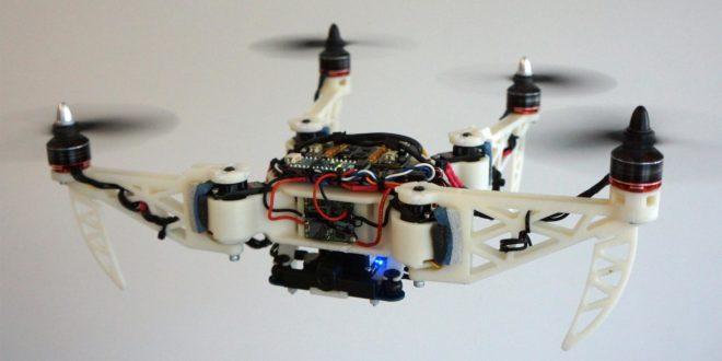 Un drone pliable qui peut vous sauver la vie