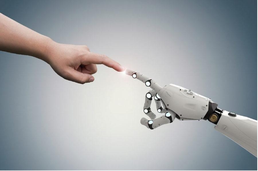 Inteligence artificielle IA humain