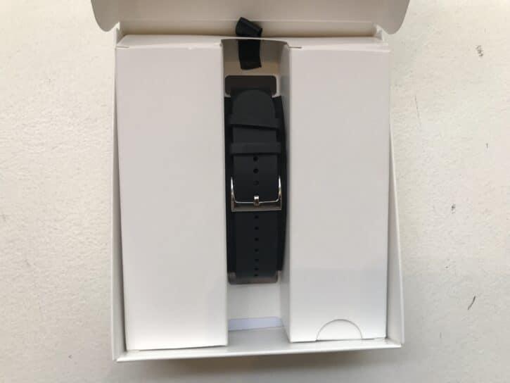 arrière du bracelet connecté Pulse HR