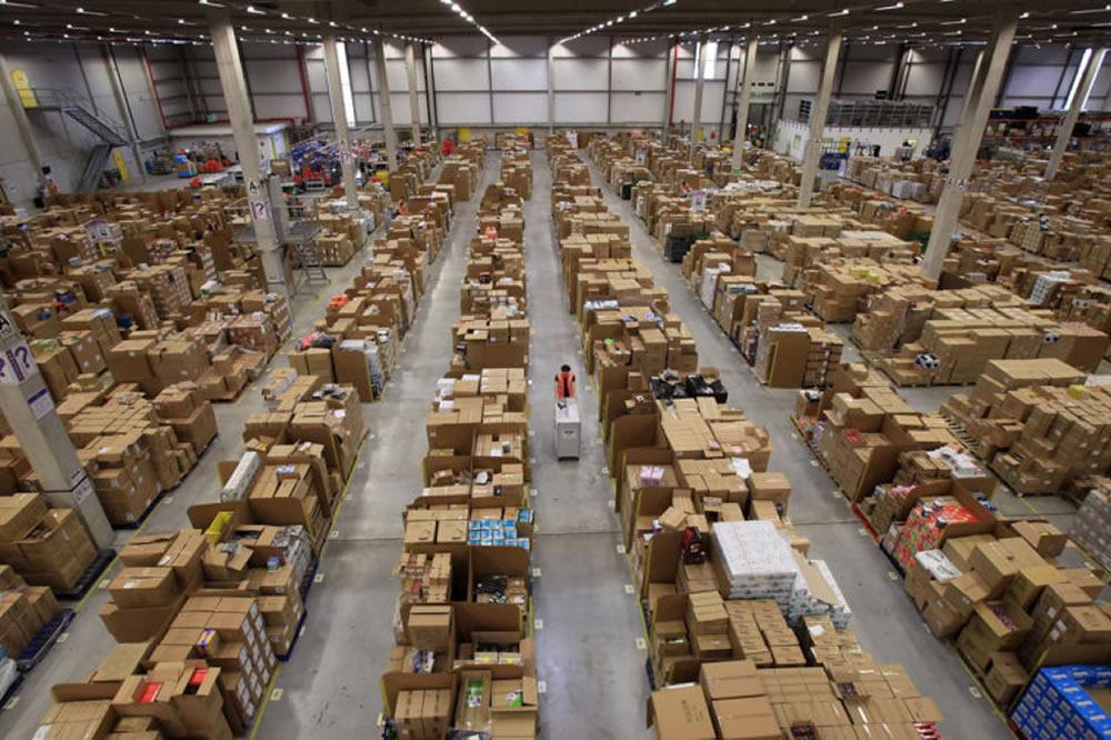 Robot entrepôt Amazon intoxication