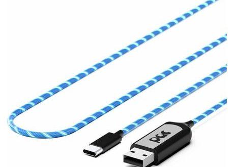 Pac le câble de chargement lumineux et écolo