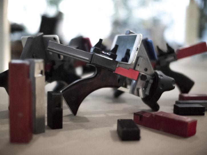 le laser game fait main saupoudré de AR