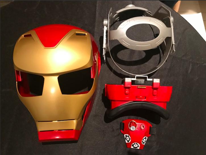 ce que contient l'emballage du Hero Vision Iron Man