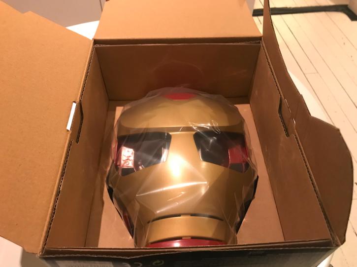ouverture de l'emballage du Hero Vision