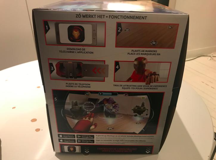 boite d'emballage du casque Hero Vision de côté