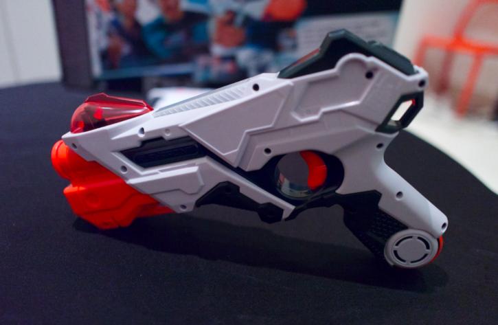 blaster du pack Alphapoint Nerf Laser Ops Pro