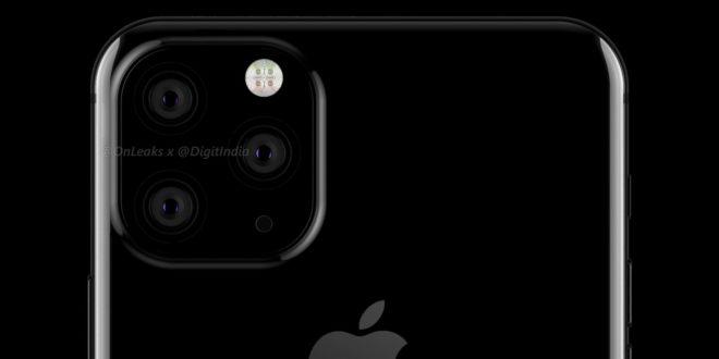 les premiers visuels de l'iPhone XI ont fuité