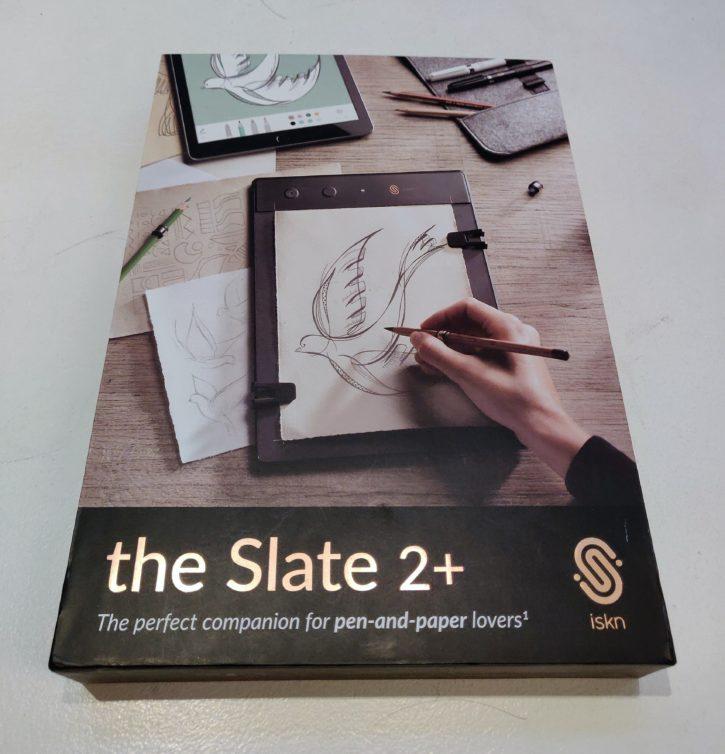 unboxing de la Slate 2+ boîte rigide