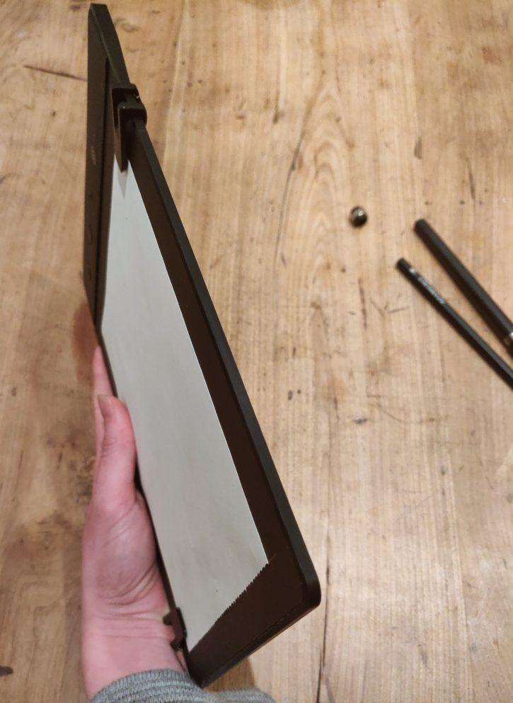 unboxing de la Slate 2+, finesse de la tablette