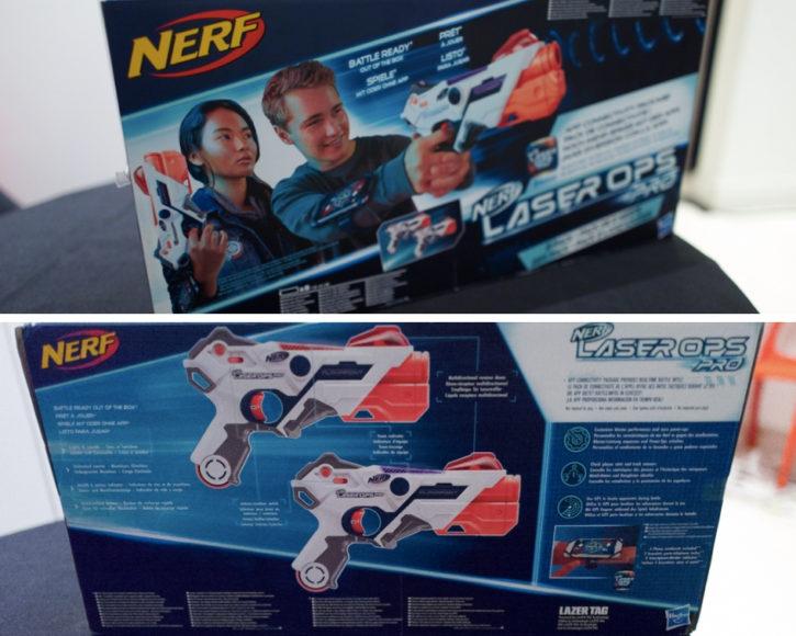 Visuel de la boite du Nerf Laser Ops Pro