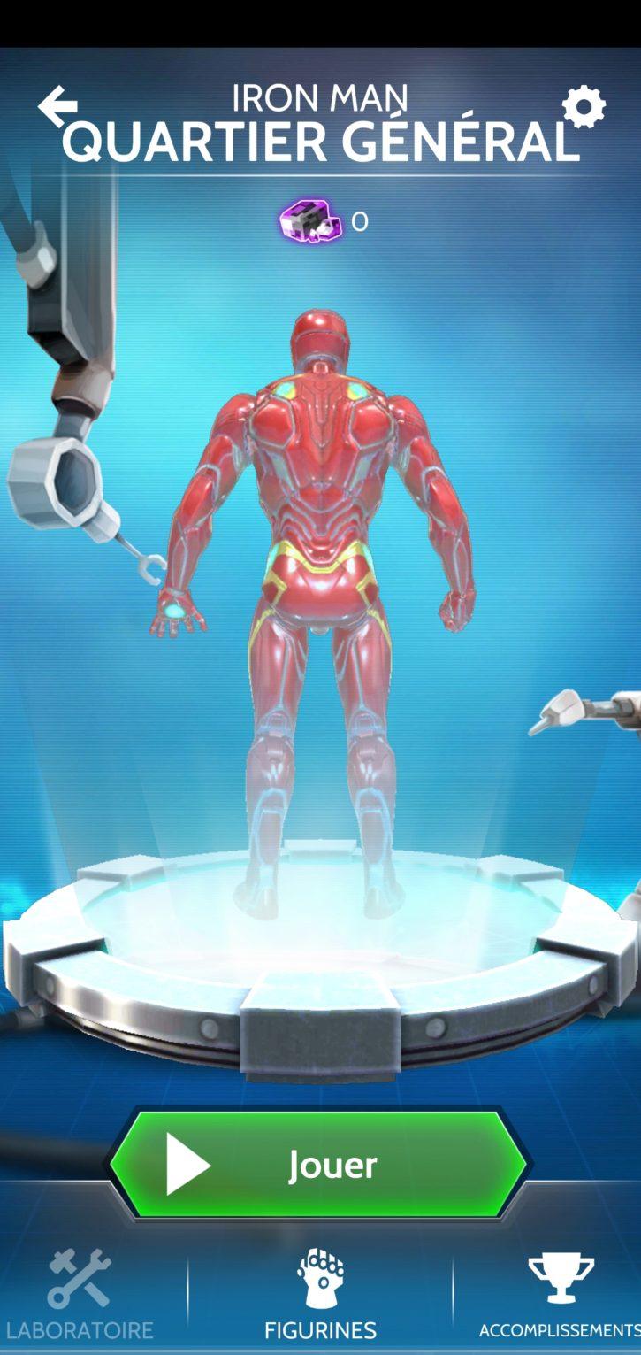 laboratoire d'Iron Man