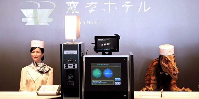 Hôtel robots Japon licenciements