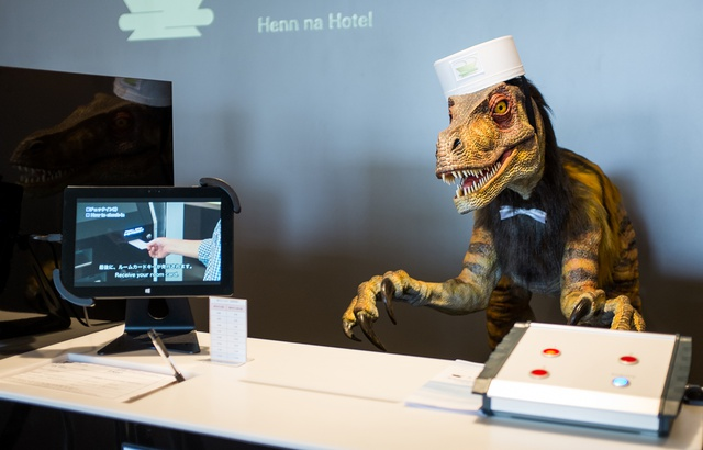 Hôtel robots Japon