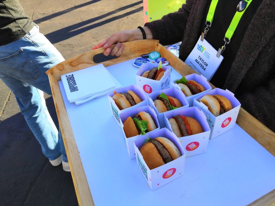 impossible burger plateau