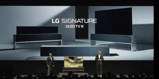 LG Signature téléviseur enroulable
