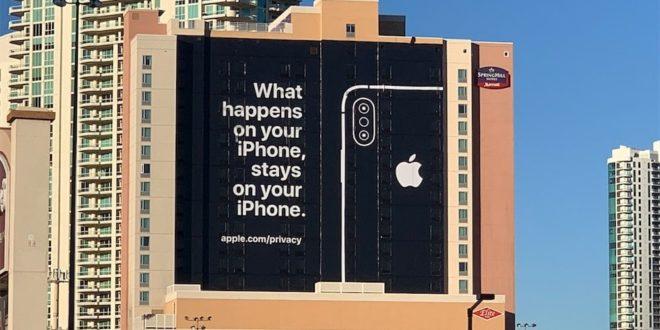 Apple nargue ses concurrents au sujet des données personelles