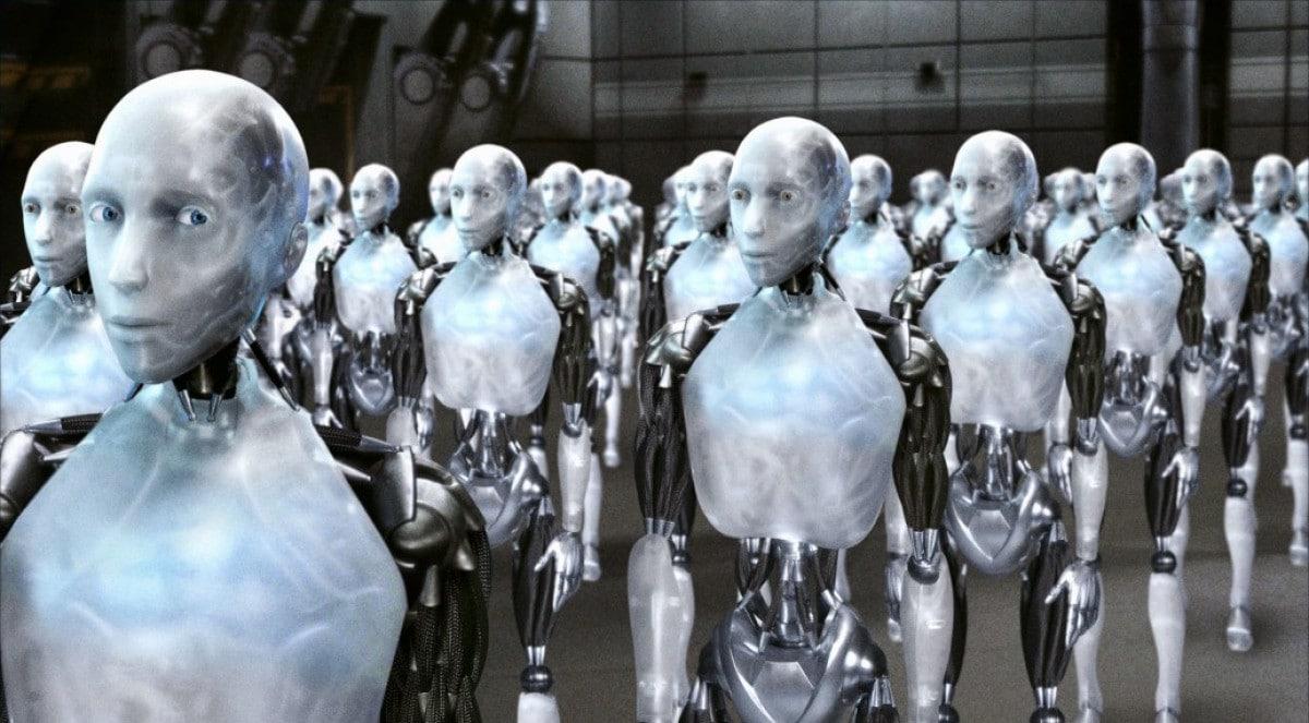 Peur des robots humains violents