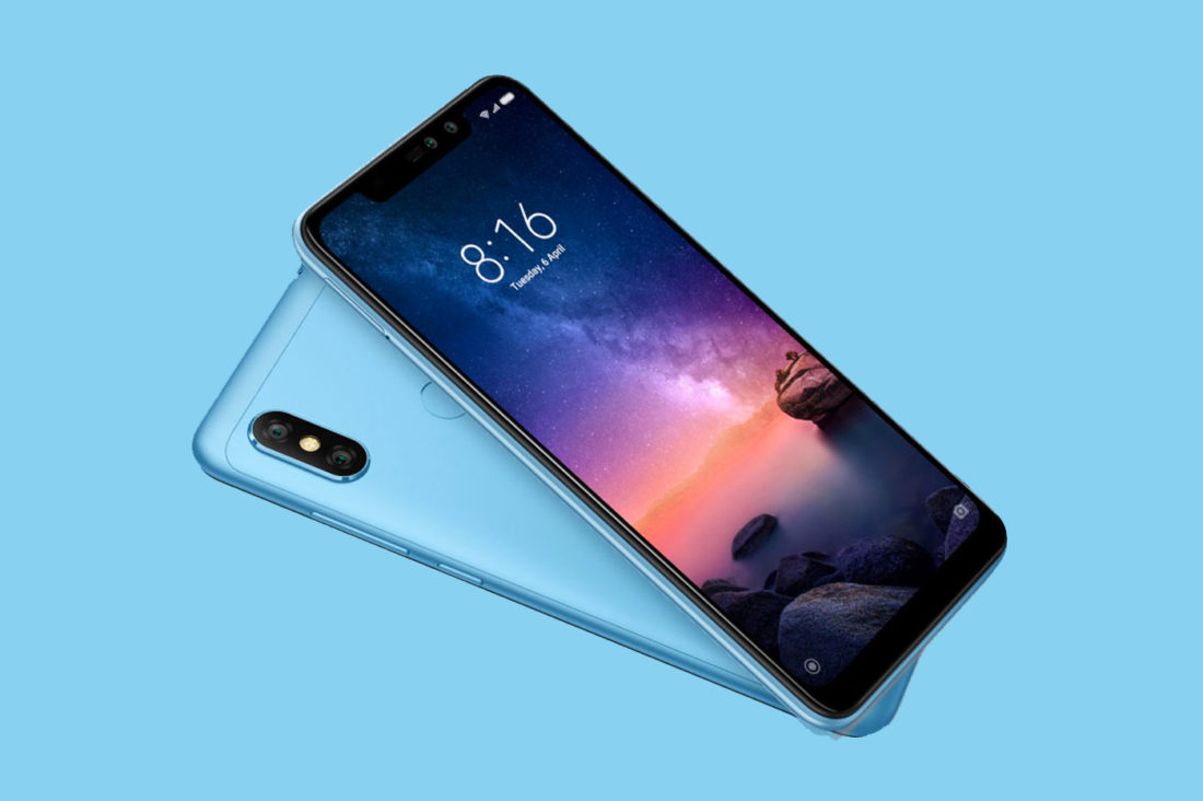« photophones » Android Xiaomi Note 6 Pro