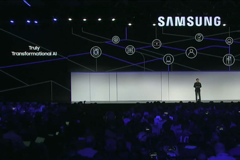 Samsung CES 2019 Intelligence Artificielle