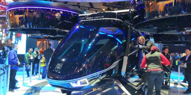 uber bell taxi volant CES 2019