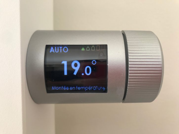 thermor piloter temperature
