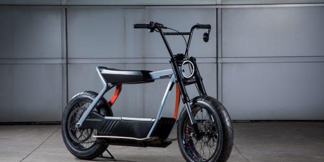 Concept scooter électrique Harley Davidson