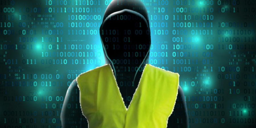 gilets jaunes cyberattaques