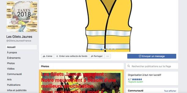 gilets jaunes facebook