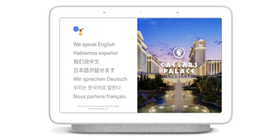 Google assistant traduction langues