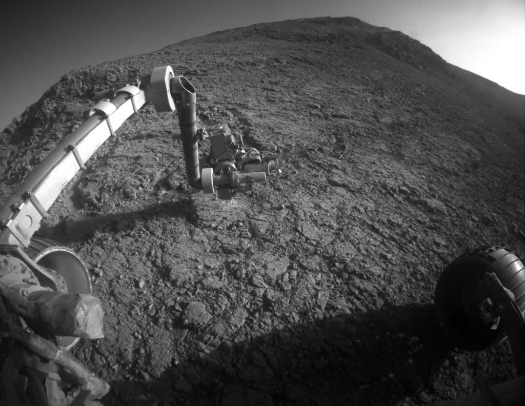Robot Opportunity Mars