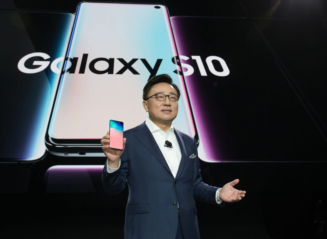 Présentation Samsung Galaxy S10