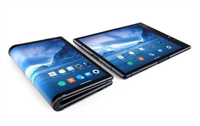 Smartphones pliables Royole