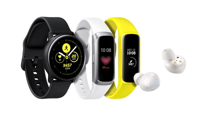 Nouveaux wearables Samsung