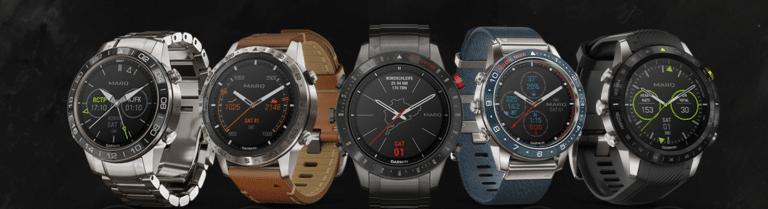 Garmin marq montres connectées