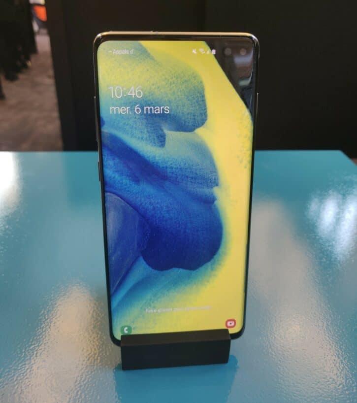 Samsung Galaxy S10 un téléphone qui partage son énérgie