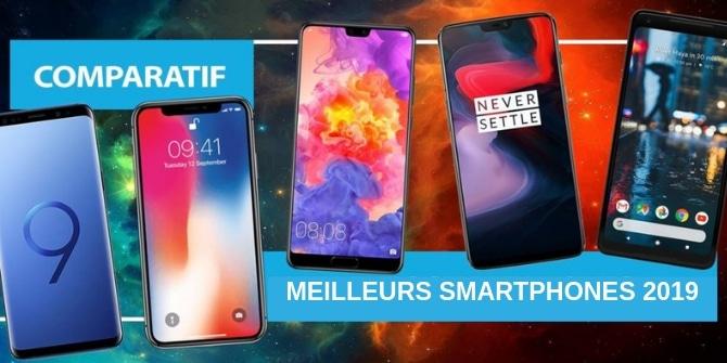 Comparatif des meilleurs smartphones de 2019