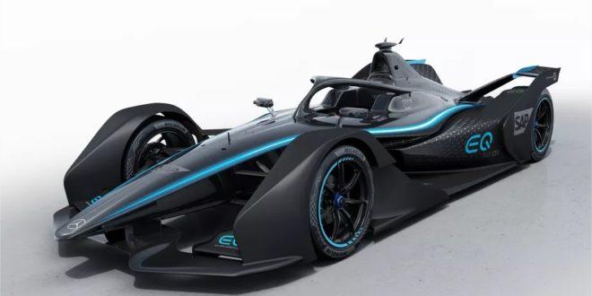 Mercedes-Benz voiture de course électrique EQ Silver Arrow 01
