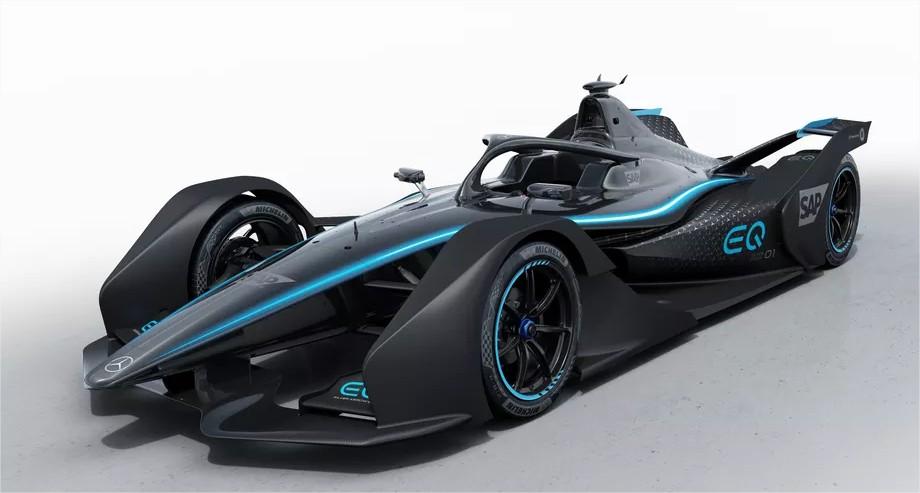 Mercedes Benz Présente Sa Voiture De Course électrique Pour La Formule E